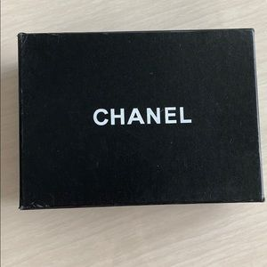 Empty Chanel box with dust bag